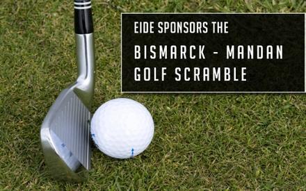 Eide sponsors Bismarck-Mandan Chamber Golf Scramble