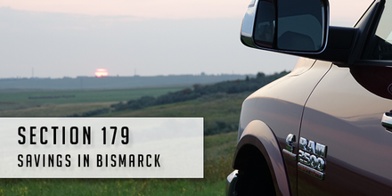 Section 179 savings on a RAM 2500 in Bismarck