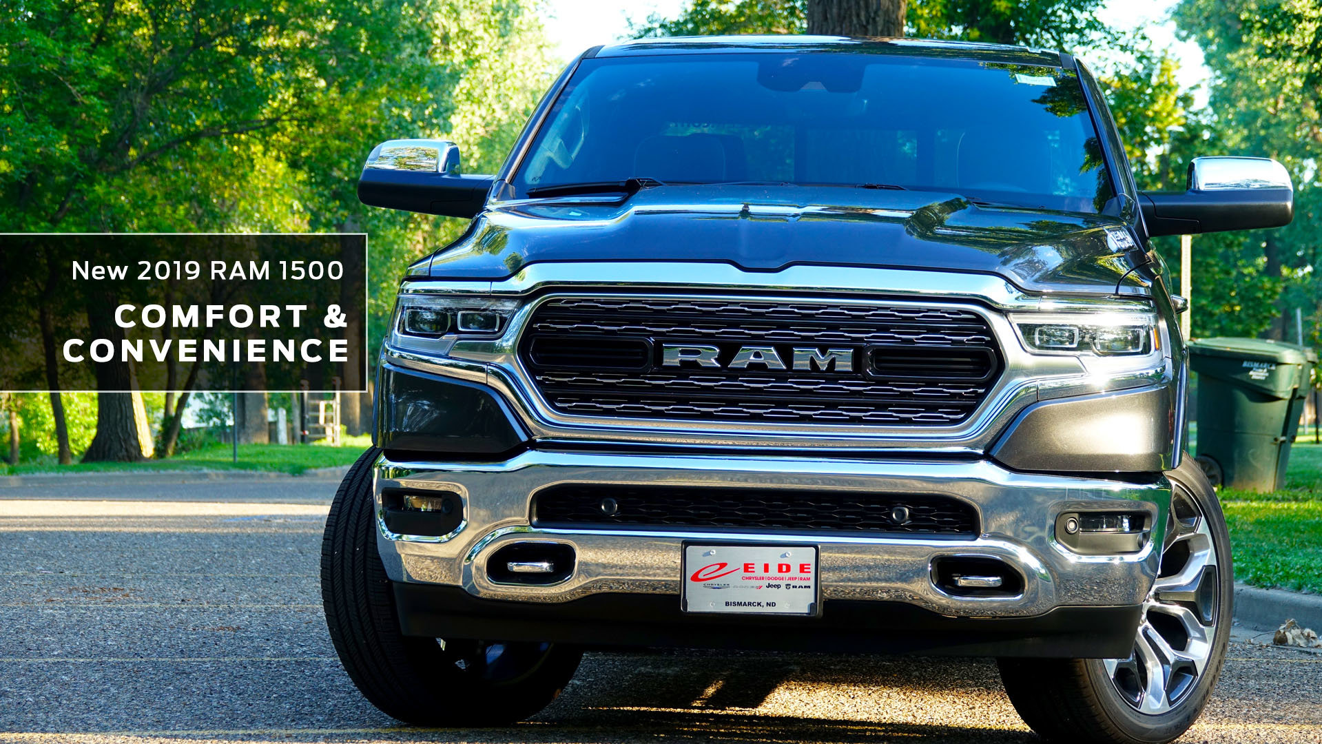 An overview of the new, 2019 RAM 1500's comfort and convenience features.