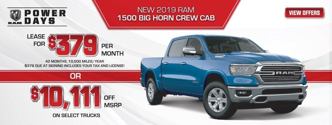 2018 RAM 1500 Big Horn Crew Cab