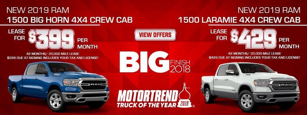 2019 RAM 1500 Big Horn Crew Cab
