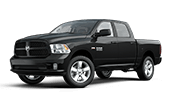 Black dodge ram 1500 pickup truck for sale