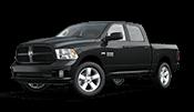 Black dodge ram 1500 pickup truck for sale