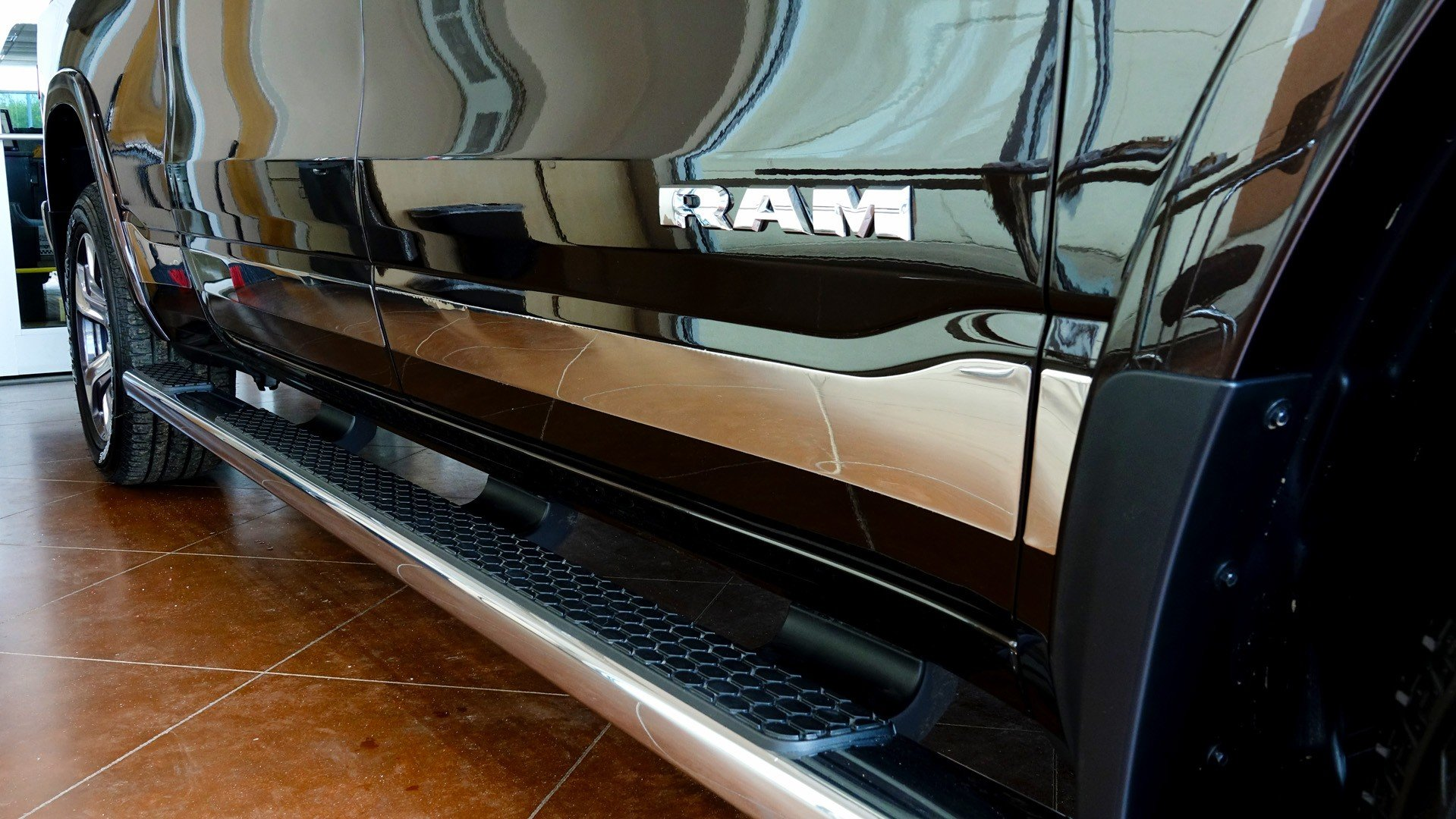 Ram 1500 Accessories - Nerf Bar