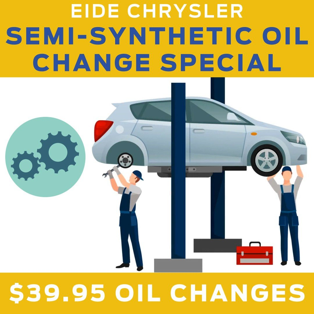 Eide Chrysler Oil Change Special