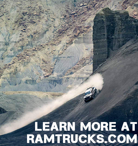Learn more at ramtrucks.com