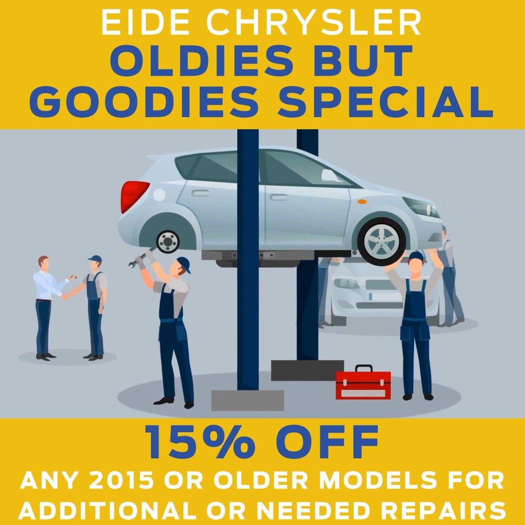 Eide Chrysler Oldies But Goodies Special