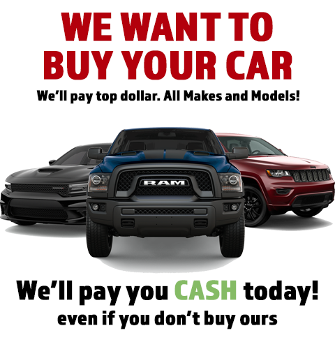 Sell Your Car to Eide Chrysler