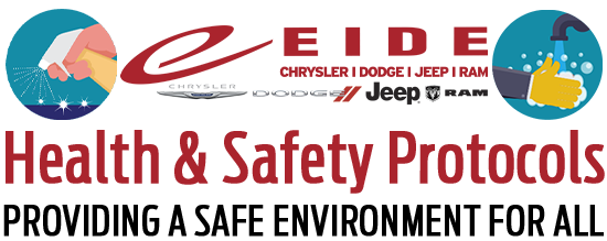 Eide Chrysler Health and Safety Protocols