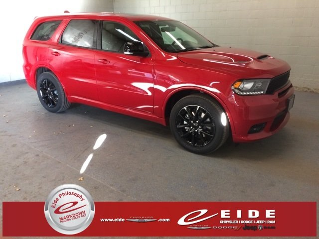 Lease this 2018, Red, Dodge, Durango, R/T