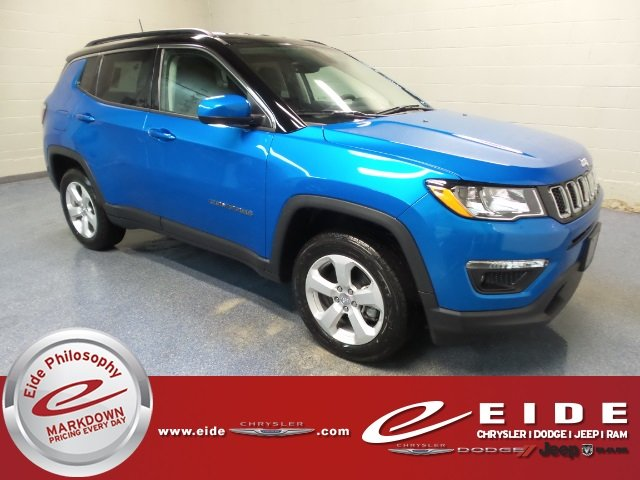 Lease this 2018, Blue, Jeep, Compass, Latitude