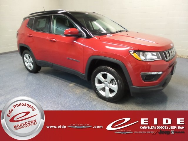 Lease this 2018, Red, Jeep, Compass, Latitude