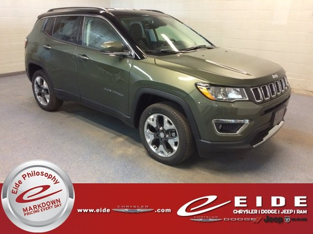 Lease this 2018, Green, Jeep, Compass, Limited