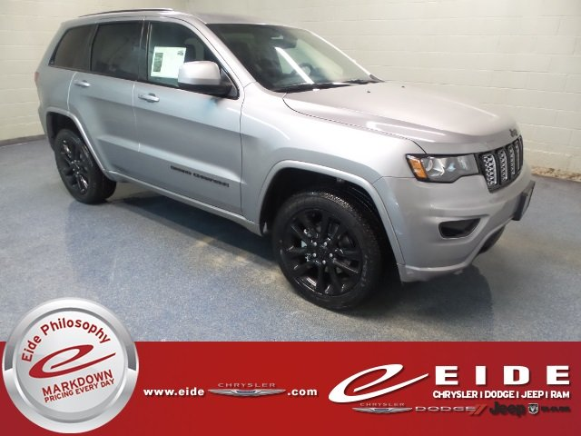 Lease this 2018, Silver, Jeep, Grand Cherokee, Altitude