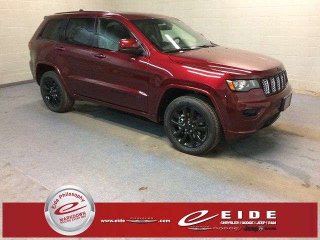 Lease this 2018, Red, Jeep, Grand Cherokee, Altitude