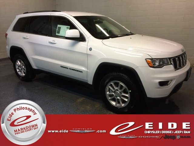 Lease this 2018, White, Jeep, Grand Cherokee, Laredo