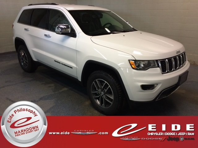 Lease this 2018, White, Jeep, Grand Cherokee, Limited