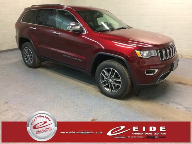 Lease this 2018, Red, Jeep, Grand Cherokee, Limited