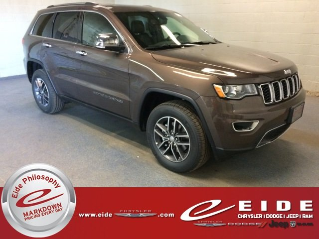 Lease this 2018, Brown, Jeep, Grand Cherokee, Limited
