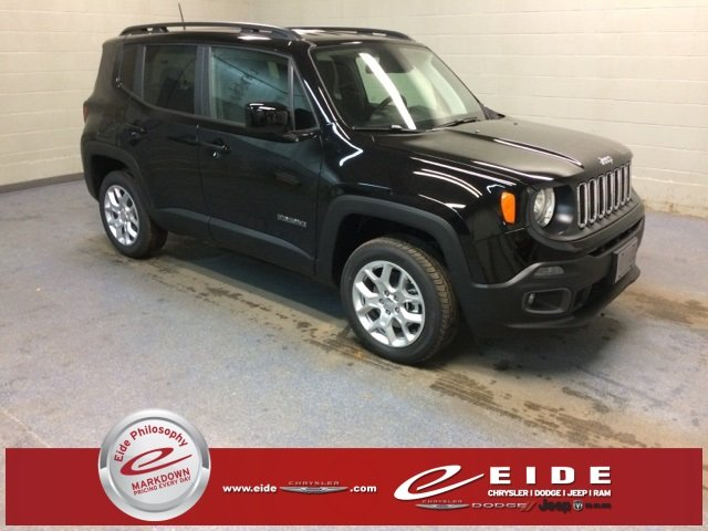 Lease this 2018, Black, Jeep, Renegade, Latitude