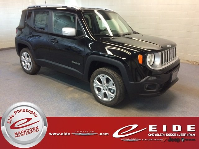 Lease this 2018, Black, Jeep, Renegade, Limited