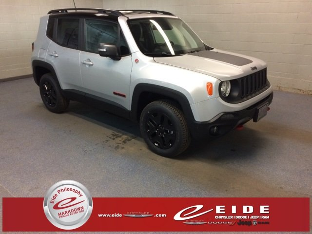 Lease this 2018, Glacier Metallic, Jeep, Renegade, Trailhawk