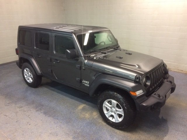 Lease this 2018, Granite Crystal Metallic Clearcoat, Jeep, Wrangler, Unlimited Sport S