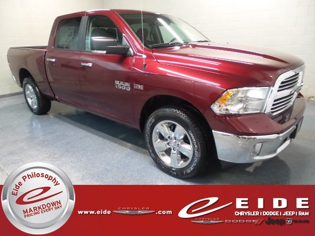 Lease this 2018, Red, Ram, 1500, Big Horn