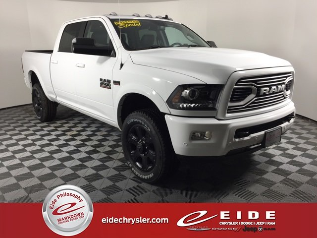 Lease this 2018, White, Ram, 2500, Laramie