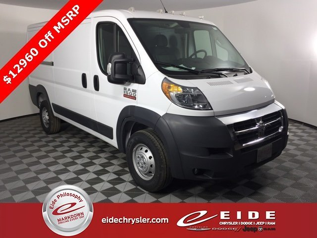 Lease this 2018, White, Ram, ProMaster 1500, Low Roof