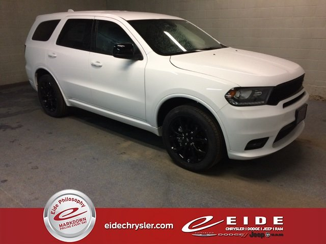 Lease this 2019, White, Dodge, Durango, GT