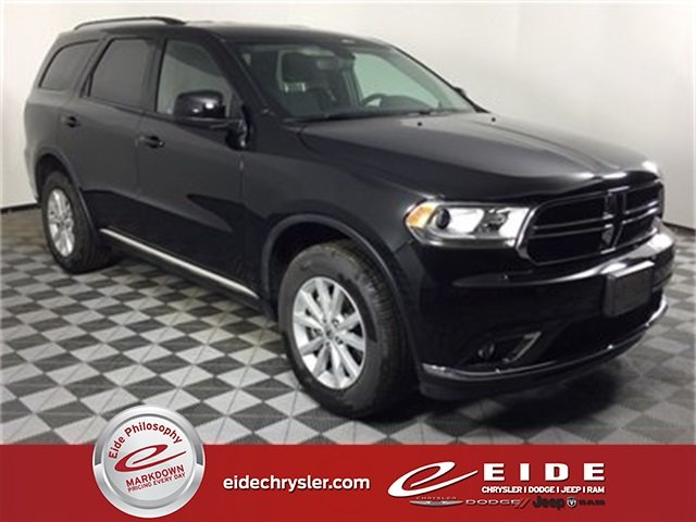 Lease this 2019, Black, Dodge, Durango, SXT Plus