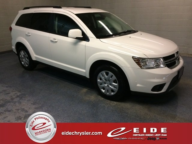 Lease this 2019, White, Dodge, Journey, SE