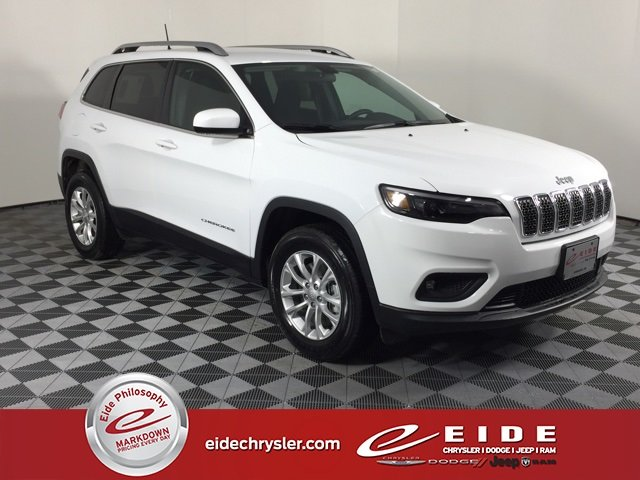 Lease this 2019, White, Jeep, Cherokee, Latitude
