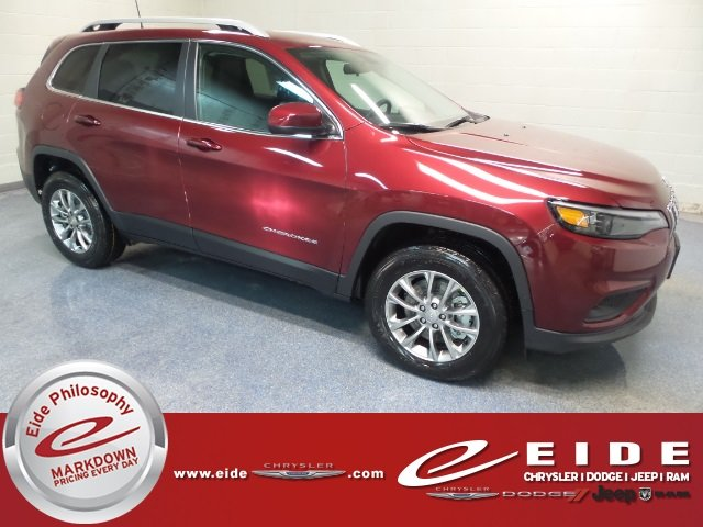 Lease this 2019, Red, Jeep, Cherokee, Latitude Plus