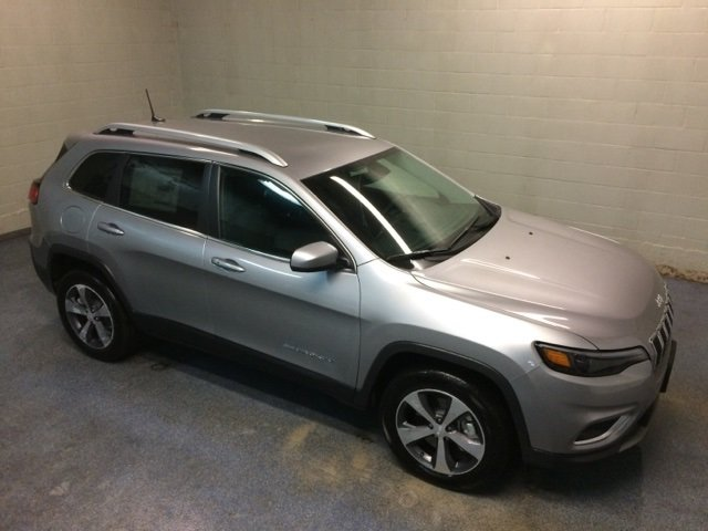Lease this 2019, Silver, Jeep, Cherokee, Limited