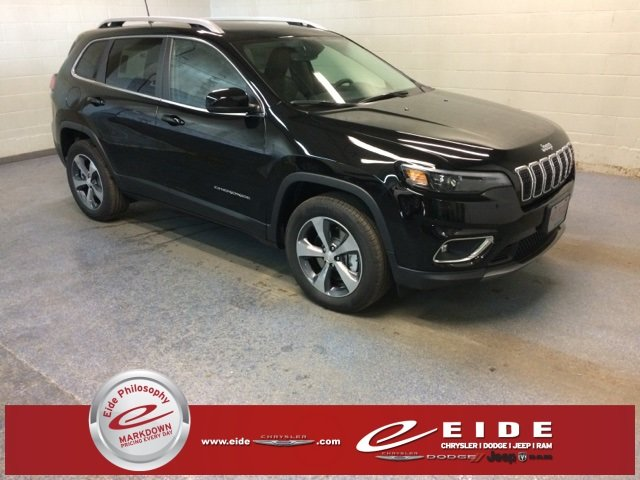 Lease this 2019, Black, Jeep, Cherokee, Limited