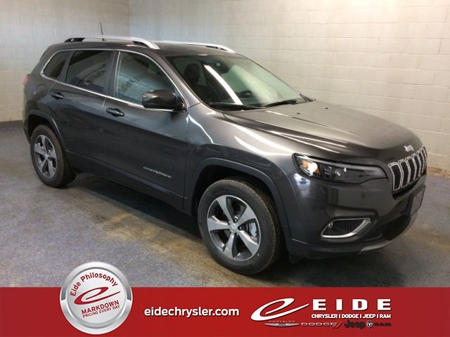 Lease this 2019, Gray, Jeep, Cherokee, Limited