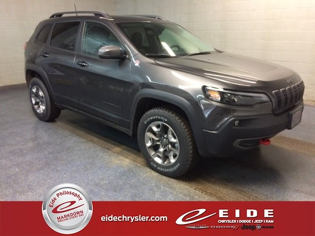 Lease this 2019, Granite Crystal Metallic Clearcoat, Jeep, Cherokee, Trailhawk
