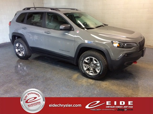 Lease this 2019, Gray, Jeep, Cherokee, Trailhawk