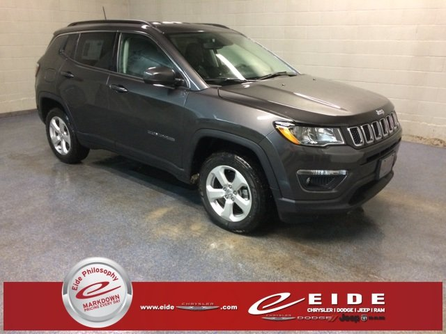 Lease this 2019, Granite Crystal Metallic Clearcoat, Jeep, Compass, Latitude