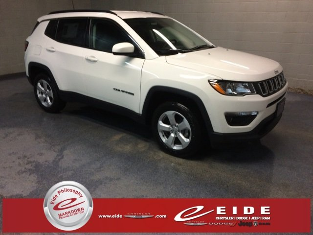 Lease this 2019, White, Jeep, Compass, Latitude