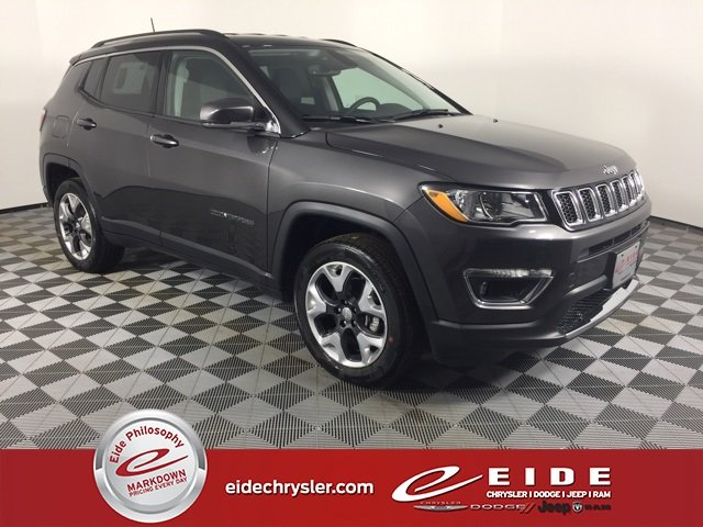 Lease this 2019, Gray, Jeep, Compass, Limited
