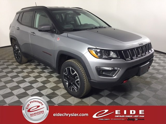 Lease this 2019, Silver, Jeep, Compass, Trailhawk