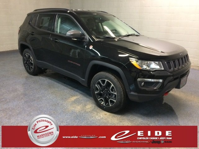 Lease this 2019, Black, Jeep, Compass, Trailhawk