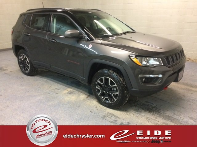 Lease this 2019, Granite Crystal Metallic Clearcoat, Jeep, Compass, Trailhawk