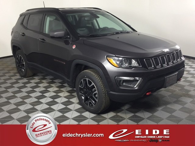 Lease this 2019, Gray, Jeep, Compass, Trailhawk