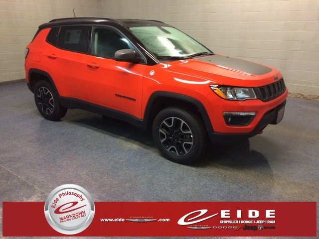 Lease this 2019, Orange, Jeep, Compass, Trailhawk