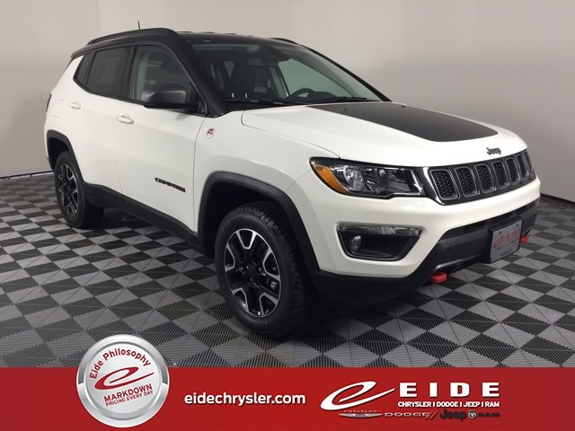 Lease this 2019, White, Jeep, Compass, Trailhawk