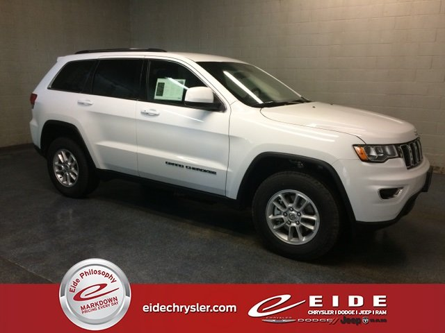 Lease this 2019, White, Jeep, Grand Cherokee, Laredo